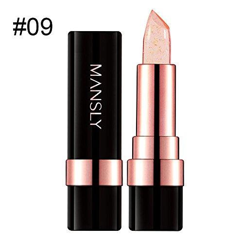 Damen Lippenstift Jelly Lippenstift Temperatur ändern Lippenstift Transparent ändern mehrere Farben Lipgloss (I)