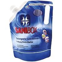 Sanibox Detergente Concentrato Elimina Odori Profumato Fresh Marine 1 Litro