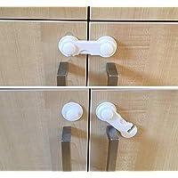 Agubugu Baby AGU-012 İki Kapaklı Dolap Kilidi - Tekli, Beyaz