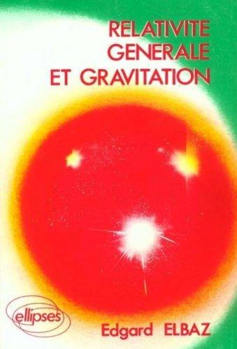 Relativité générale et gravitation