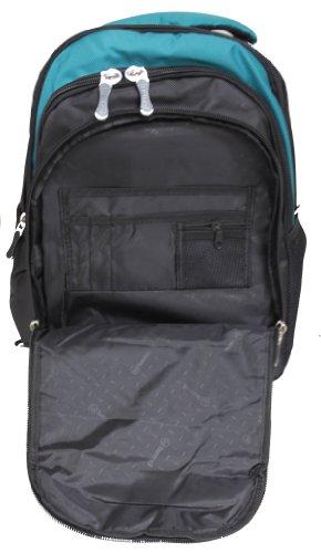 38,1cm 40,6cm Laptop iPad Rucksack A4College Camping Wandern Tasche Rucksack Handgepäck Rot