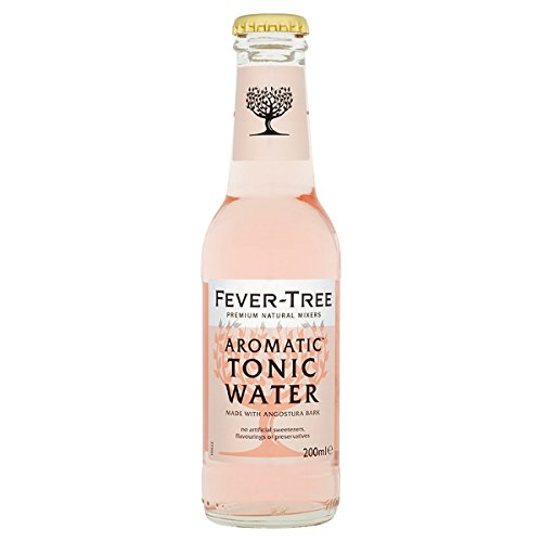 fever tree mediterranean tonic Fever-Tree Aromatic Tonic Water - 24 x 200ml Bottles