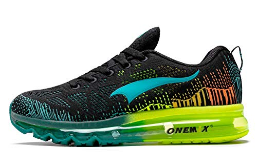 ONEMIX Men's Air Cushion Running Shoes,Zapatillas de Running para Hombre Deporte y Aire Libre de Malla Transpirables