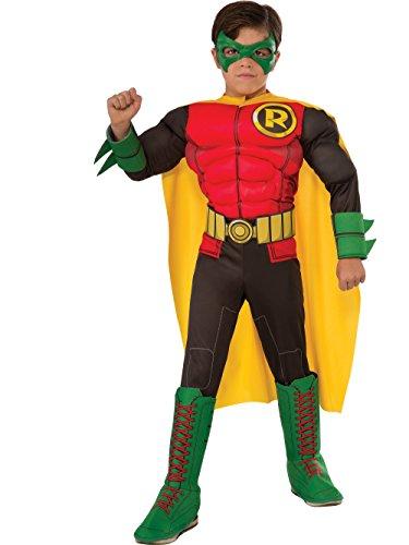 DC Comics Robin Deluxe Child Costume Small