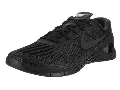 Nike Metcon 3, Zapatillas de Gimnasia para Hombre, Negro (Black/Black), 45 EU