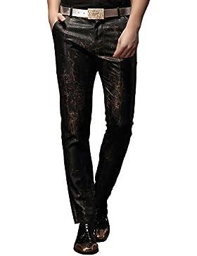 FANZHUAN Pantalones De Moda Hombre Slim Fit Casual