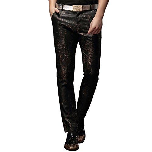Fanzhuan pantaloni slim fit pantaloni eleganti skinny uomo pantaloni classici uomo slim fit