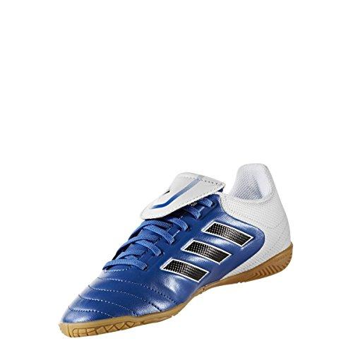 adidas Copa 17.4 In, Chaussures de Football Garçon BLUE/FTWWHT/CBLACK