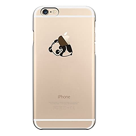 iPhone 6 Plus Coque, UCMDA Silicone transparente Crystal Clear Housse
