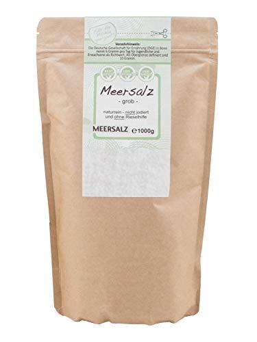 es Meersalz perfekt geeignet für die Salzmühle (1 kg) ()