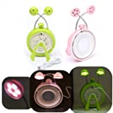 création boutique de cadeaux usb miroir portatif ventilateur LED Tableau lampe de bureau de lumière 3 en 1...