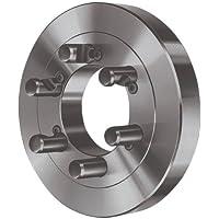 Röhm 0007630820001–Flangia in ghisa, acciaio, Cono corto, 100mm, manico b5.9)