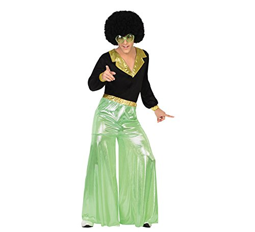 Atosa Disfraz de Disco Man Verde