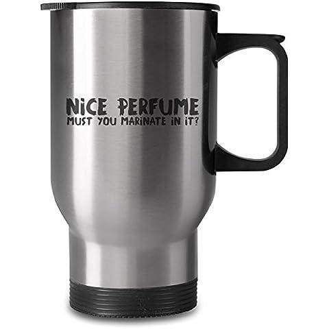 Nice perfume 16oz taza de acero inoxidable