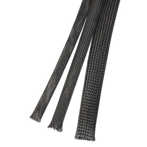 200 cm Gewebeschlauch 18 mm bis 38 mm dehnbar, Geflechtschlauch , flexibel und robust