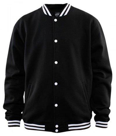 """""""Urban Classics"""" Designer-giacca """"College felpa"""", taglia: XS, colore: Nero"""