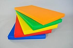 Fallschutzmatte / Sicherheitsmatte / 5 Stück / Farbmischung / 100x50x5cm