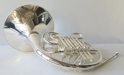 sinfonía Wester Bosque/trompa doble Cuerno/French Horn en Bb/F, Real bañado en plata, incluye maletín rígido, Nuevo Incluye Accesorios de Lujo