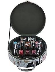 Gloss! Mallette de Maquillage Style Vintage 25 Pièces