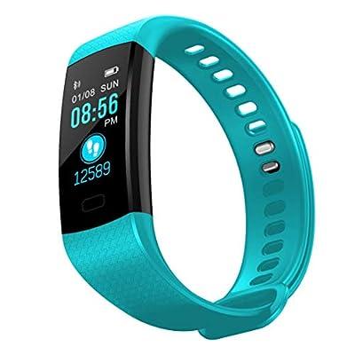 Transer' Y5 Smart Band Heart Rate Blood Pressure Fitness Tracker Waterproof Y5 Bracelet Wristband Smart Watch Men Women from Transer'