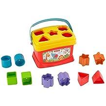 Fisher-Price - Bloques infantiles, con cubo transportable (Mattel K7167)