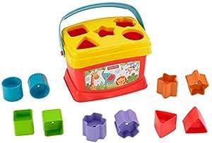 Fisher-Price K7167 – Babys erste Bausteine Formensortierspiel
