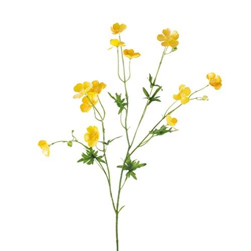 Kunstblume gelb, 80