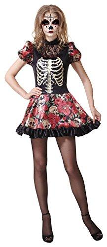 My Other Me Me-202279 Disfraz muñeca Día de los Muertos para mujer, M-L (Viving Costumes 202279