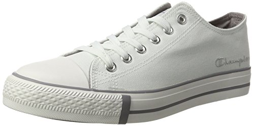 Champion Rib2, Sneakers Basses Femme Blanc (Lgry - Weiß)