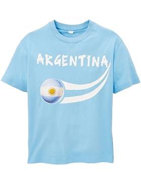 Supportershop Argentina Coup du Monde - Camiseta, color azul cielo, talla 8/9 ans