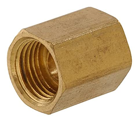 The Hillman Group 58344 Brass Inverted Flare Fitting, Union, 6-Pack