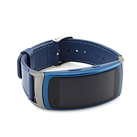 Gear Fit 2 Band,SongNi®Luxury Genuine Leather Watch Replacement Band Strap For Samsung Gear Fit 2