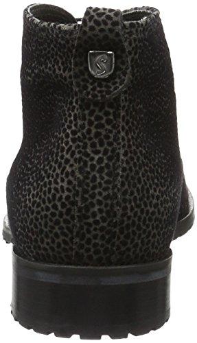 Sioux Damen Barbora Chukka Boots Schwarz (asphalt-schwarz)