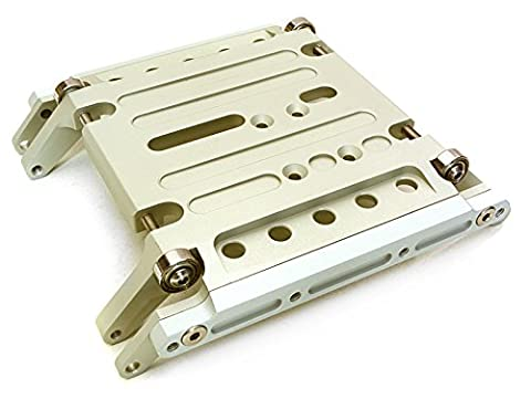 Integy RC Model Hop-ups C27125HARD Billet Machined Alloy Center Skid Plate for Axial 1/10 Wraith