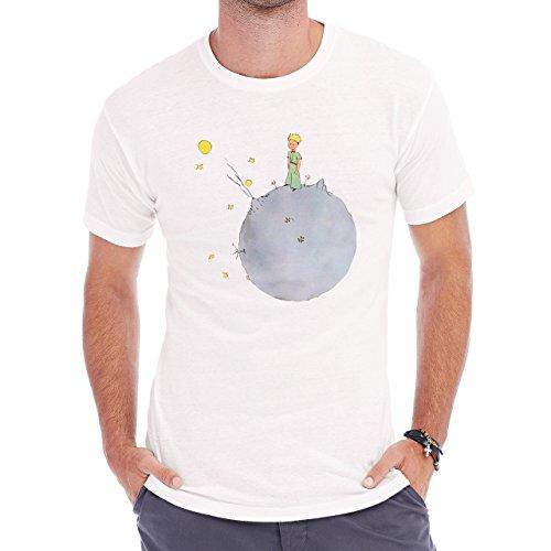 The Little Prince Main Classic Cover Herren T-Shirt Weiß