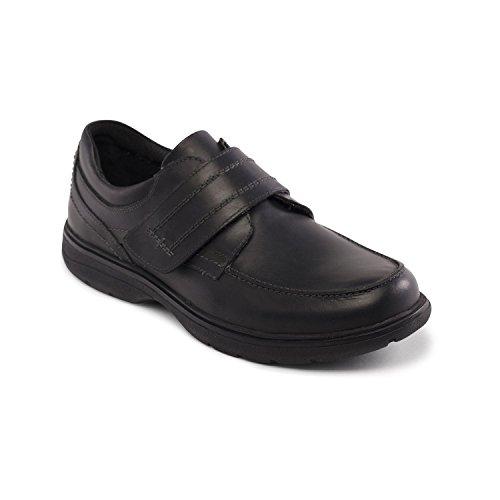 Padders Chaussures de Ville à Lacets Pour Homme Noir