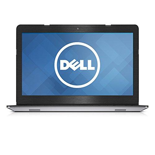 GADFLY Schwarz Gebürstet Aluminium Haut Aufkleber Wrap Haut Case für Dell Inspiron 153558355939,6cm Laptop (Laptop Aufkleber Inspiron Dell)
