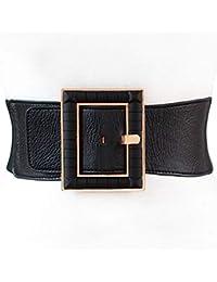 talla 40 f3c5e 11566 Amazon.es: Cinturones Hebilla Grande - Negro / Accesorios ...