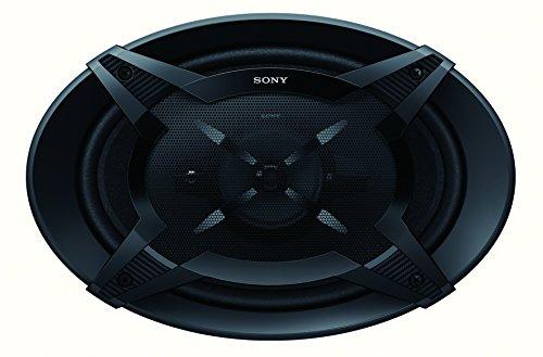 Sony XS-FB6930 16x24 cm 3-Wege Auto-Lautspecher mit 450 Watt Maximalleistung Schwarz