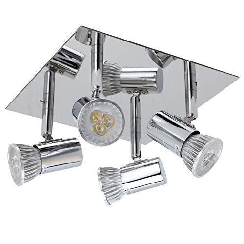 Minifocos LED modernos para techo, luz I Ecopower para sala de estar,...