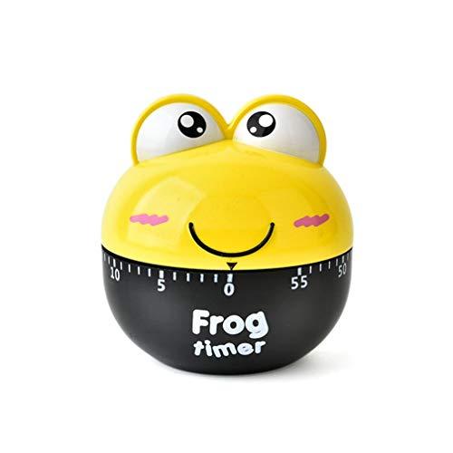 Encoco Animal Küchentimer 0–60 Minuten süßer Frosch kommerzielle Eieruhr mit Rotaion-Alarm...