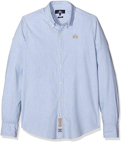la-martina-man-shirt-l-s-oxford-stretch-chemise-de-loisirs-homme-blau-blue-bell-melange-01030-medium
