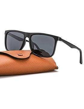 Espejo Gafas De Sol Hombre Polarizadas 100% Protección UVA UVB para Conducir Viajes Playa