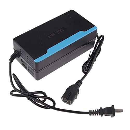 perfk 48 Volt 2,5 Amp Elektroroller Fahrrad Batterieladegerät Autobatterie Ladegerät für Motorrad