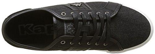 Kappa Kadon, Baskets Basses Homme Noir (Black)