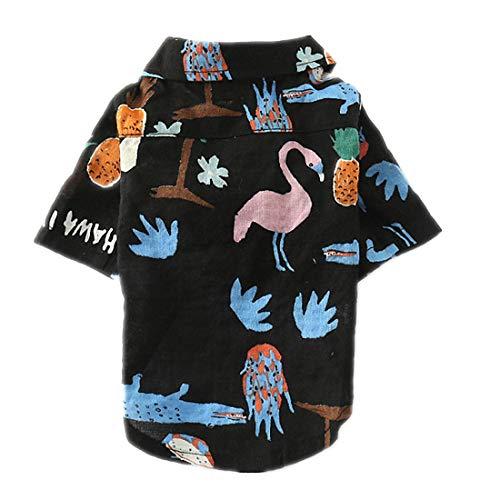 PZSSXDZW Haustierhundekostüm Frühling Mode-Shirt Bequeme Baumwolle Stilvoll und gut (Darth Vader Katze Kostüm)