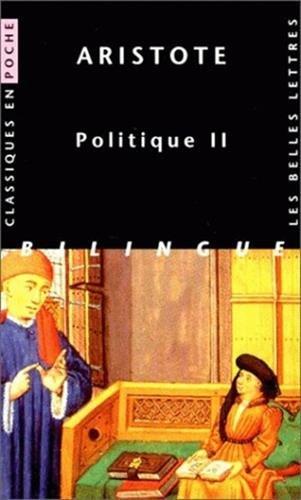 Politique, livre 2 par Aristote