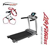 F3 go Laufband inkl. Vario SlingTrainer - Modell 2013/ 2014 der Marke Life Fitness