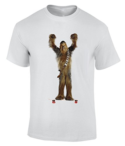 Wars On Longboard - X-Large T-Shirt Herren (Chewbacca Beanie)