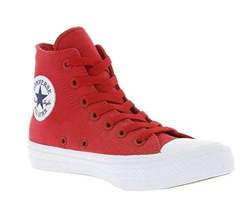 Converse Ct Ii Hi, Sneakers Homme Rouge